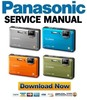 Thumbnail Panasonic Lumix DMC-FT1 + TS1 Service Manual & Repair Guide
