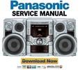 Thumbnail Panasonic SC-VK61D Service Manual & Repair Guide