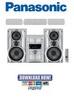 Thumbnail Panasonic SC-VK72D SA-VK72D Service Manual & Repair Guide