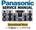 Thumbnail Panasonic SC-VK81D Service Manual & Repair Guide