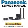 Thumbnail Panasonic SC-BT300 Service Manual & Repair Guide