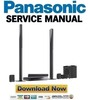 Thumbnail Panasonic SC-BT730 Service Manual & Repair Guide