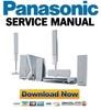 Thumbnail Panasonic SC-HT930 SA-HT930 Reparaturanleitung