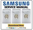 Thumbnail Samsung WF-S1061 + S861 Service Manual & Repair Guide
