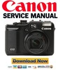 Thumbnail Canon Powershot G10 Full Service Manual & Repair Guide