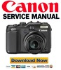 Thumbnail Canon Powershot G11 Service Manual & Repair Guide