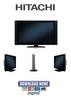 Thumbnail Hitachi 42HDX99 + 42HDT79 + 42HDS69 Service Manual & Repair Guide