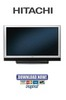 Thumbnail Hitachi 50HDA39 Service Manual & Repair Guide
