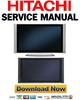 Thumbnail Hitachi 55HDX99 55HDT79 55HDS69 Service Manual & Repair Guide