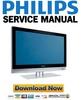 Thumbnail Philips 32HF7445 Service Manual & Repair Guide