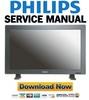 Thumbnail Philips BDL3231C Monitor Service Manual & Repair Guide