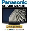 Thumbnail Panasonic TX-P42S10 + PF42S10 Series Service Manual & Repair Guide