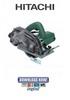 Thumbnail Hitachi C5YA Service Manual & Repair Guide
