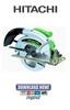 Thumbnail Hitachi C7YA Service Manual & Repair Guide
