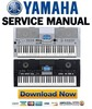 Thumbnail Yamaha PSR-550 Service Manual & Repair Guide