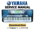 Thumbnail Yamaha Portatone PSR-540 Service Manual & Repair Guide