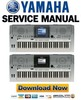 Thumbnail Yamaha Portatone PSR-S700 + S900 Service Manual & Repair Guide