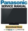 Thumbnail Panasonic TC-P42ST30 Service Manual & Repair Guide