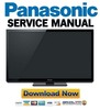 Thumbnail Panasonic TC-P55VT30 Service Manual & Repair Guide