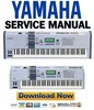 Thumbnail Yamaha Motif ES6 + ES7 + ES8 Service Manual & Repair Guide