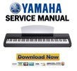 Thumbnail Yamaha P-140 + P-140S Service Manual & Repair Guide
