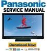 Thumbnail Panasonic TC-P50U1 Service Manual & Repair Guide