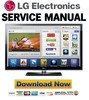 Thumbnail LG 50PZ950 50PZ950-UA FULL Service Manual & Repair Guide