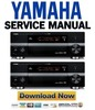 Thumbnail Yamaha DSP-AX2700 + RX-V2700 Service Manual & Repair Guide