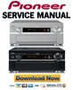 Thumbnail Yamaha DSP-AZ2 + RX-V3300 Service Manual & Repair Guide