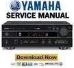 Thumbnail Yamaha HTR-5140 5140RDS + RX V495 V495RDS Service Manual & Repair Guide