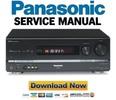 Thumbnail Panasonic SA-BX500 BX500PP Service Manual & Repair Guide