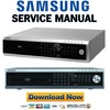 Thumbnail Samsung SHR-2160 + 2162 Service Manual & Repair Guide
