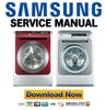 Thumbnail Samsung WD6122CKC WD6122CKS Service Manual & Repair Guide
