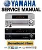 Thumbnail Yamaha RX-V1700 + DSP-AX1700 Service Manual & Repair Guide
