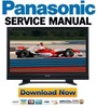 Thumbnail Panasonic TH-37PV7 37PX7 42PV7 42PX7 Service Manual & Repair Guide
