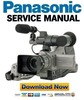 Thumbnail Panasonic AG DVC10 DVC10P Service Manual & Repair Guide