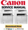 Thumbnail Canon imageCLASS D1180 D1170 D1150 D1120 Service Manual & Repair Guide