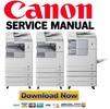 Thumbnail Canon imageRunner 2530i 2530 2525i 2525 2520i 2520 Service Manual & Repair Guide