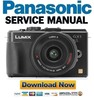 Thumbnail Panasonic Lumix DMC-GX1 Service Manual & Repair Guide