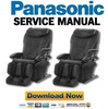 Thumbnail Panasonic EP3203 EP3202 Service Manual & Repair Guide