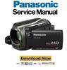 Thumbnail Panasonic HDC-HS60 Service Manual & Repair Guide