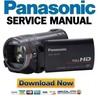 Thumbnail Panasonic HDC-TM700 SD700 SD707 Service Manual & Repair Guide