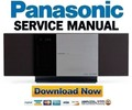 Thumbnail Panasonic SC-HC3 Service Manual & Repair Guide