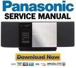 Thumbnail Panasonic SC-HC30 Service Manual & Repair Guide