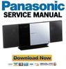 Thumbnail Panasonic SC-HC35 Service Manual & Repair Guide