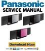Thumbnail Panasonic SC-HC40 HC40PC Service Manual & Repair Guide
