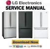 Thumbnail LG LFC21760 LFC25760 Series Service Manual & Repair Guide