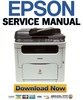 Thumbnail Epson Aculaser CX16 + CX16NF Service Manual & Repair Guide
