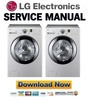 Thumbnail LG WD2016C WM2101H WM2101HW Service Manual & Repair Guide