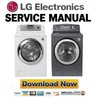 Thumbnail LG WM0742H WM0742HWA WM0742HGA Service Manual & Repair Guide